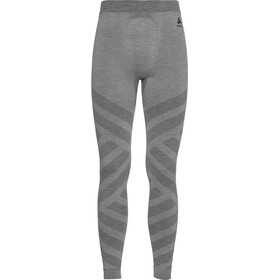 Odlo Natural + Kinship Warm Lang Ondergoed Heren, grey melange